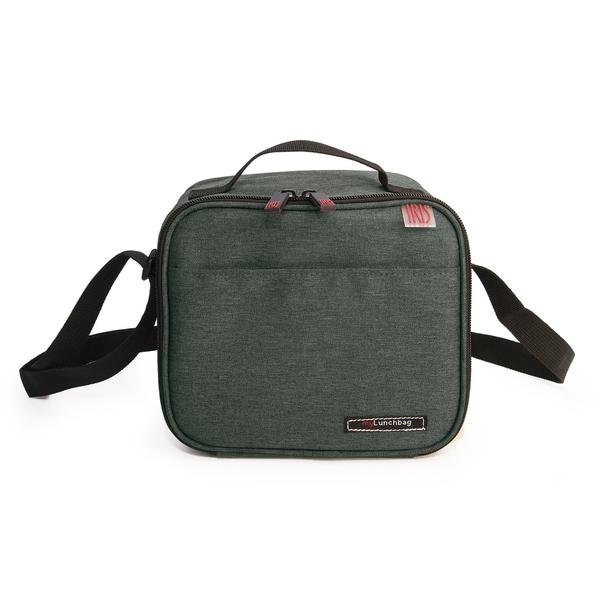 Iris - Lunchbag avec 2 boites hermétiques 0.6 l vert