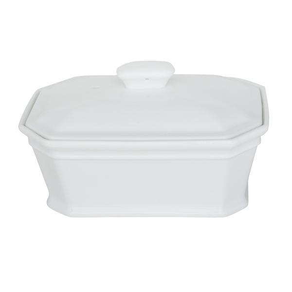 Porcelaine Girard - Terrine N°3 420g en procelaine blanche