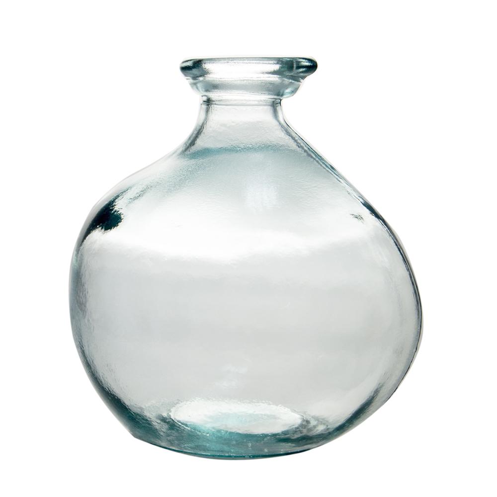 Table Passion - Vase bouteille Simplicity verre 100% recyclé 18cm