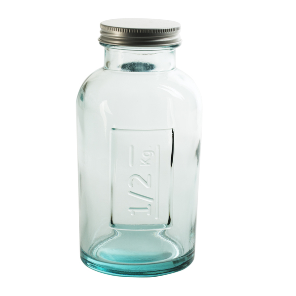 Table Passion - Pot en verre recyclé avec couvercle vissable 0.5 l