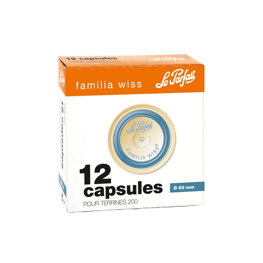 Le Parfait - Boite de 12 capsules Familia wiss 8.2 cm