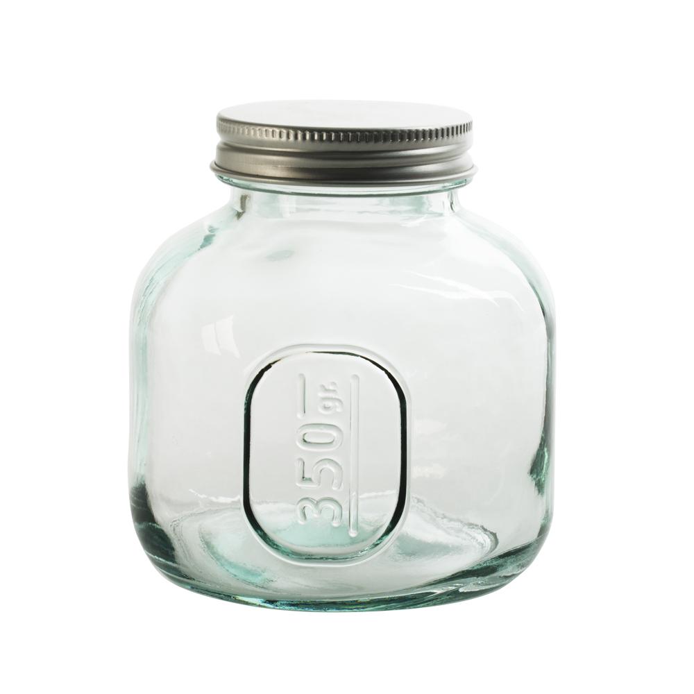 Table Passion - Pot en verre recyclé avec couvercle vissable 0.35 l