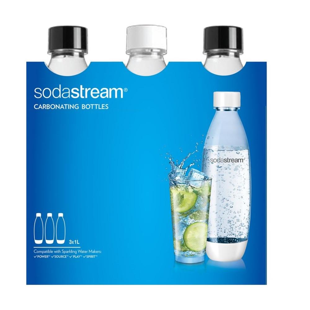 Sodastream - Pack de 3 bouteilles 1 L