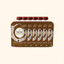 Smowl - Gourde Lait de Coco Banane Cacao Acai Bio - 6 x 115g
