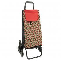 Sidebag - Poussette de marche 6 roues carlux Geometrik