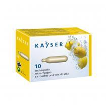 Kayser - Boite 10 cartouches pour soda et eau de seltz