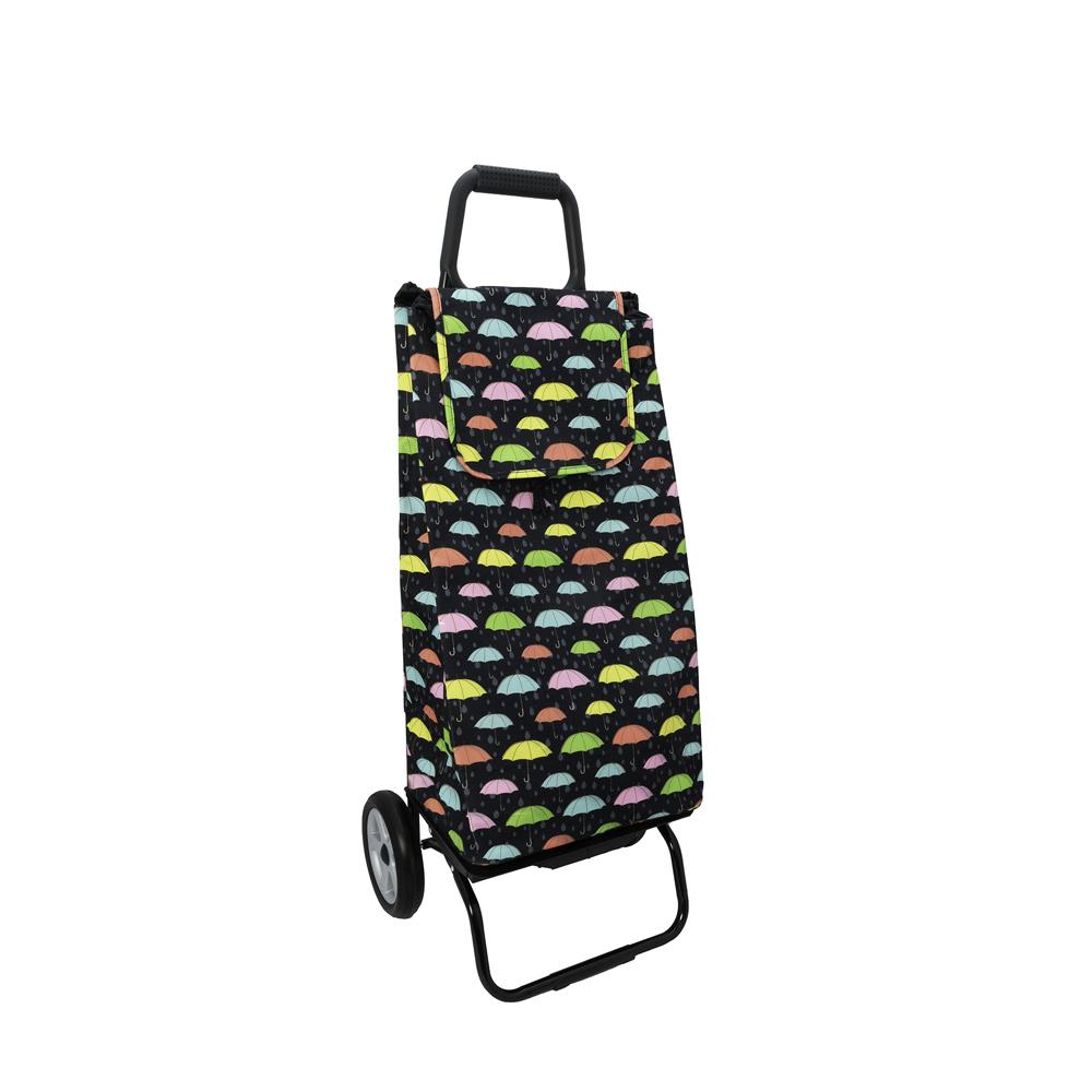 Sidebag - Poussette de marché 2 roues Parapluie