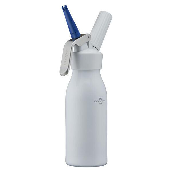 Kayser - Siphon à chantilly 0.5 litre blanc