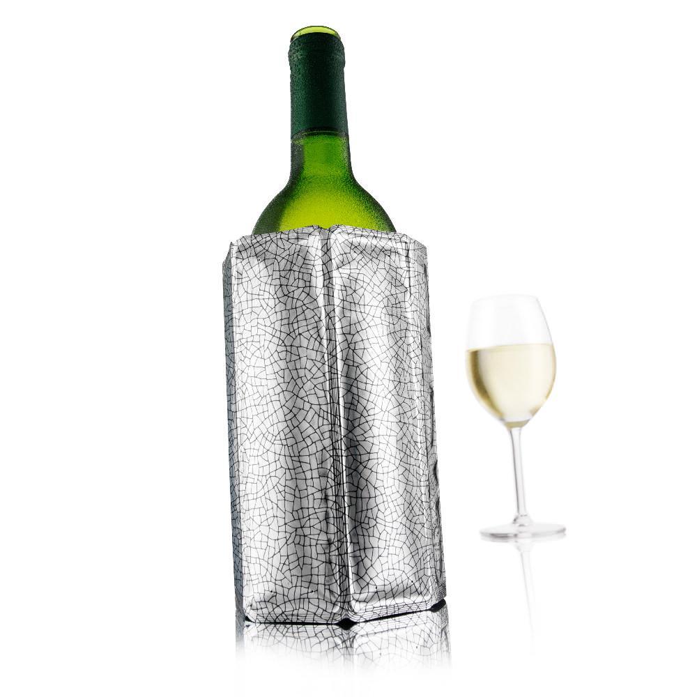 Vacuvin - Refroidisseur à vin Rapid ice Silver