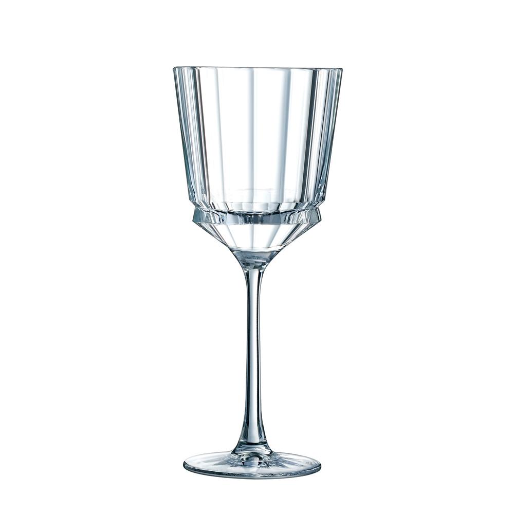 Cristal d'Arques - Verre à pied Macassar en cristallin 25 cl (lot de 6)
