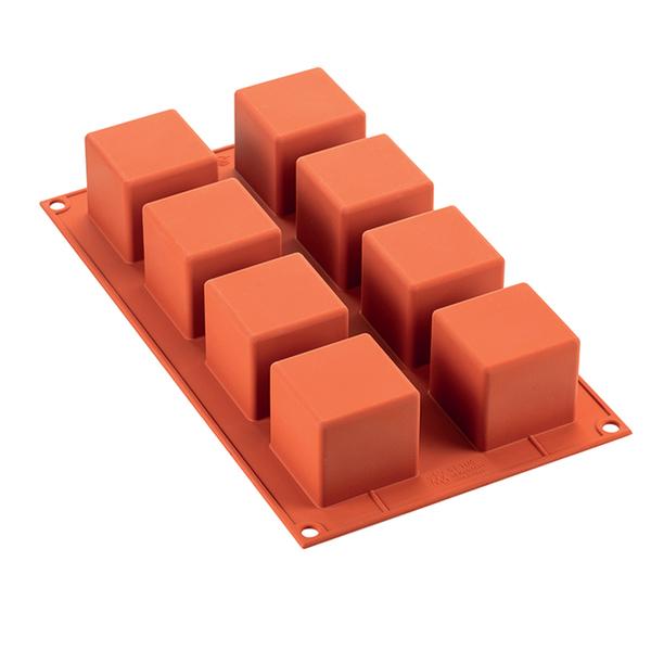 Silikomart - Moule en silicone 8 cubes 5 x 5 cm