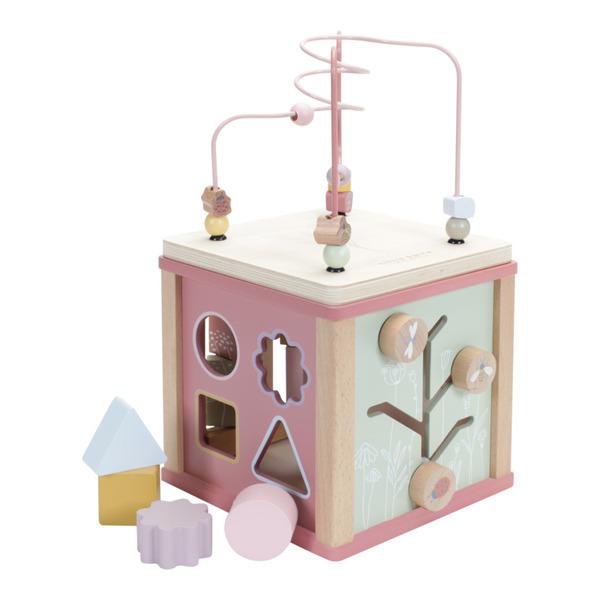 Little Dutch - Cube d'activités en bois Flowers