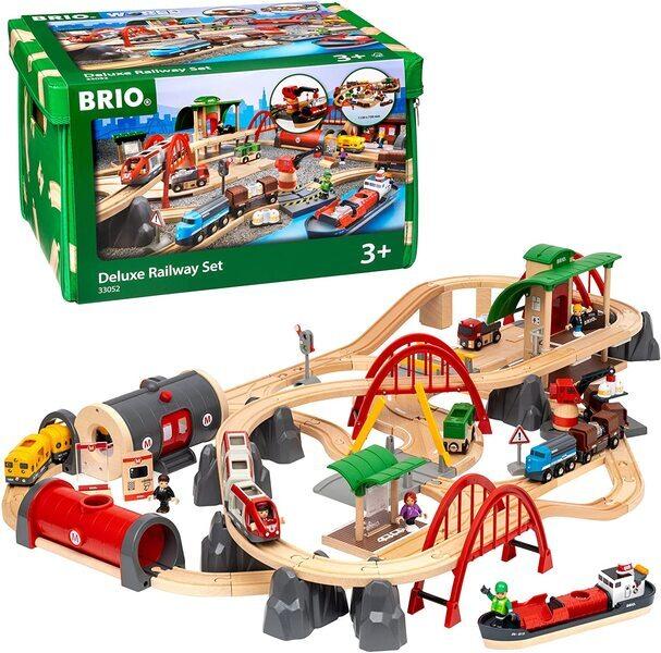 Brio - Circuit de chemin de fer Deluxe