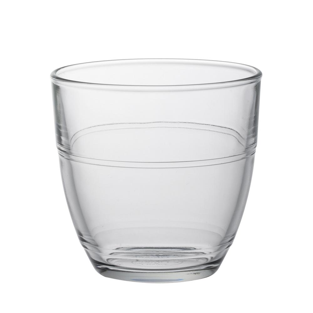 Duralex - Boite de 6 gigogne transparent gobelet 22 cl