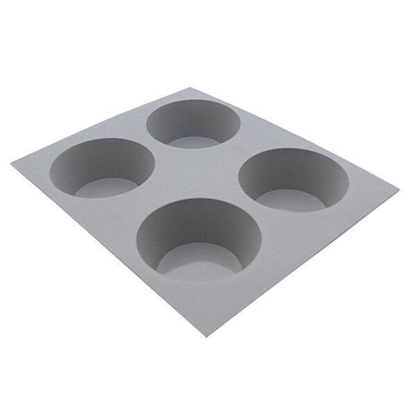 de Buyer - Moule pour 4 mini muffins en silicone Elastomoules