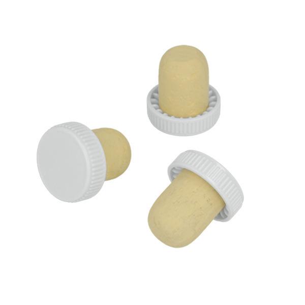 Metaltex - 6 bouchons en liège avec tête plastique