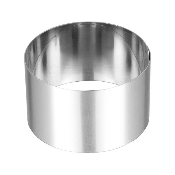 Lares - Cercle à dessert inox diamètre 5 cm