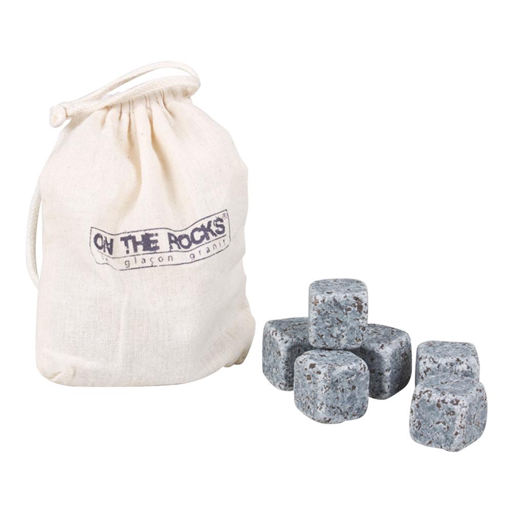 On The Rocks - Sachet 6 glaçons granit
