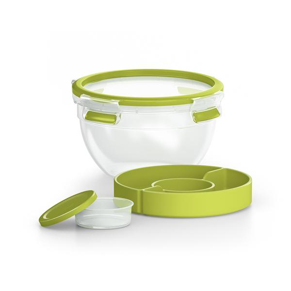 Emsa - Boîte repas pour salade Clip&Go