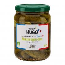 Bravo Hugo - Cornichons Malossol aigres-doux 85cl bio