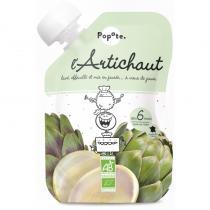 Popote - Petite gourde de Artichaut dès 6 mois - Popote - L'unité