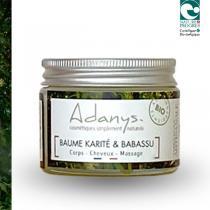 Adanys - Baume karité et babassu - 50 ML