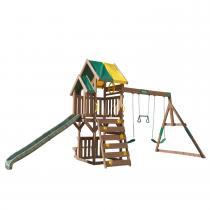 Kidkraft - Aire de Jeux en bois avec Balançoire Arbor Crest Deluxe - Kidkra