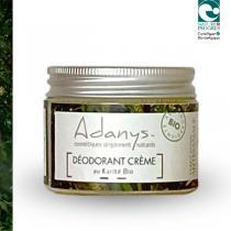 Adanys - Déodorant crème au beurre karité BIO