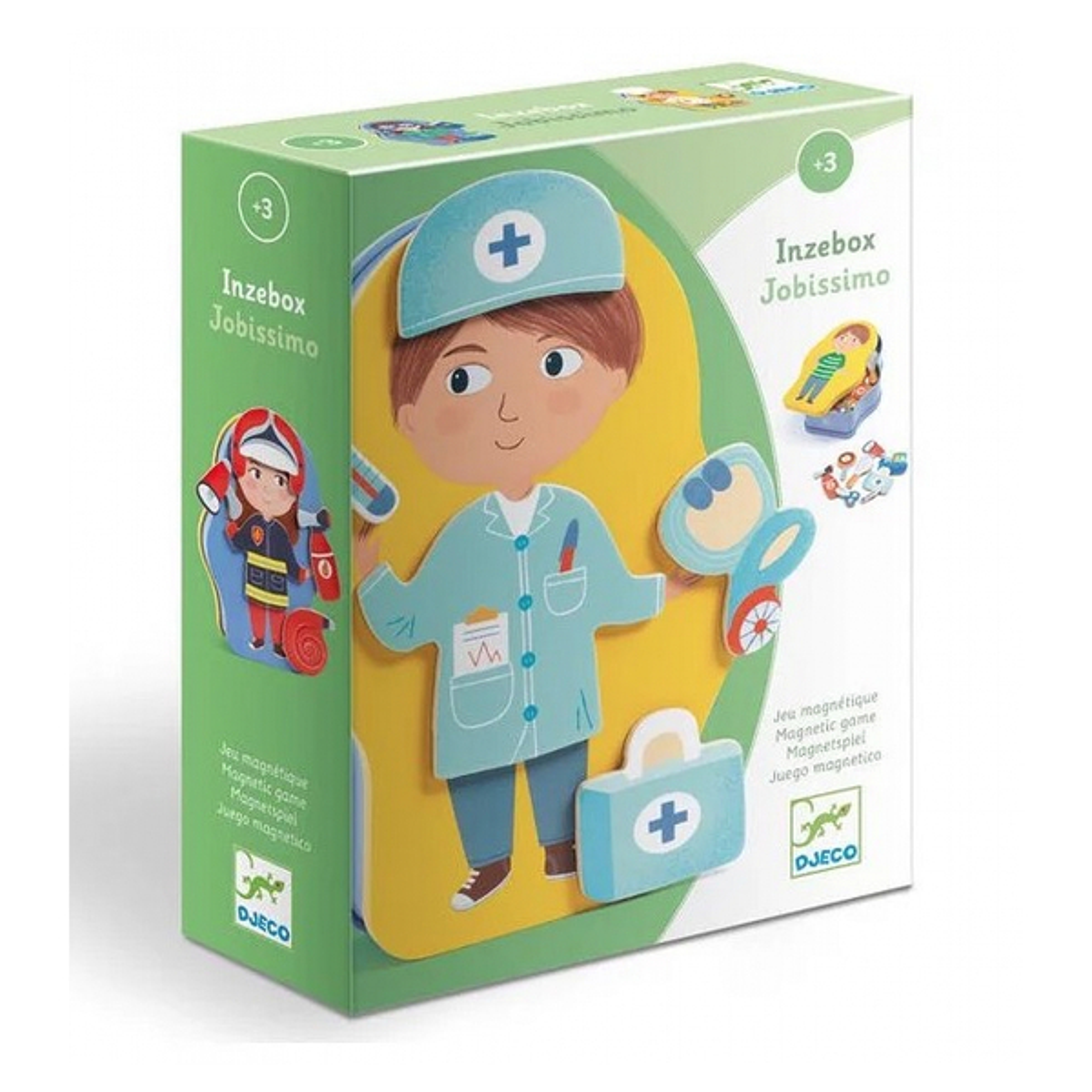 Djeco - Inzebox Magnetique Jobissimo