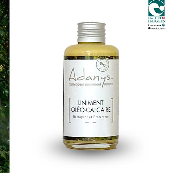 Adanys - Liniment Oléo-Calcaire Nettoyant/ Démaquillant - 100 ML