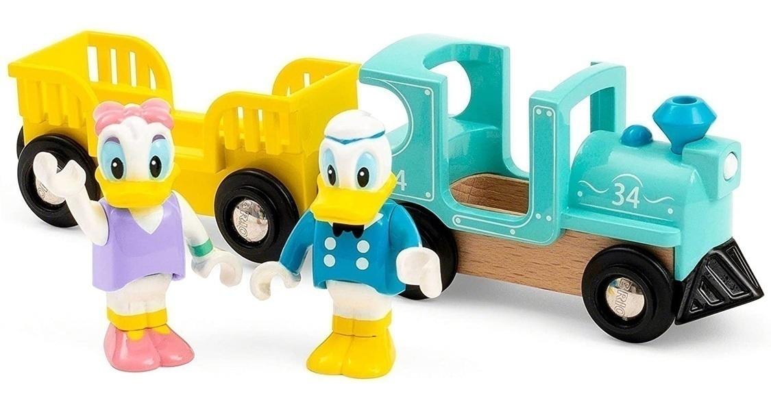 Brio - Train de Donald et Daisy Duck