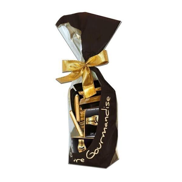Saveurs & Nature - Napolitains de chocolat noir 125g bio