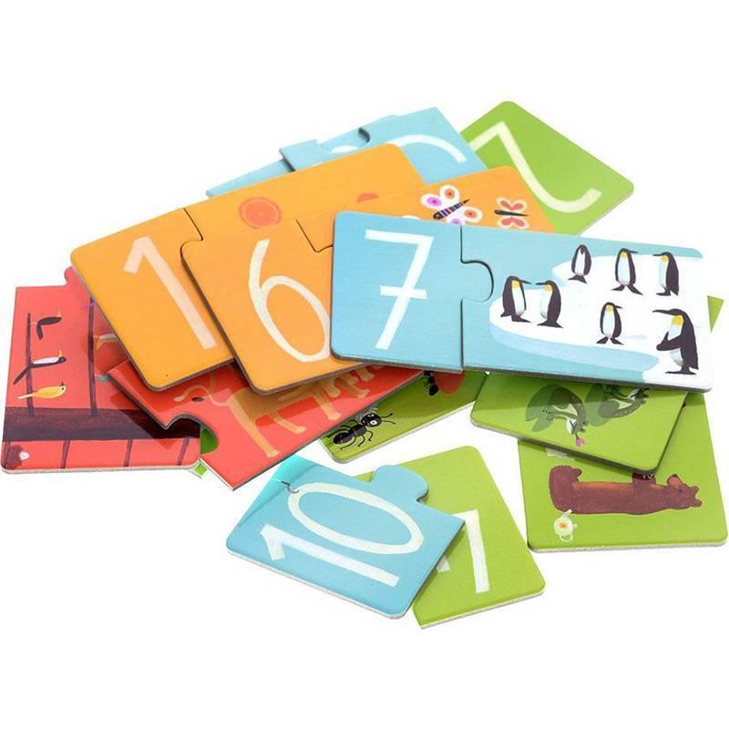 Djeco - Puzzle Duo Chiffres