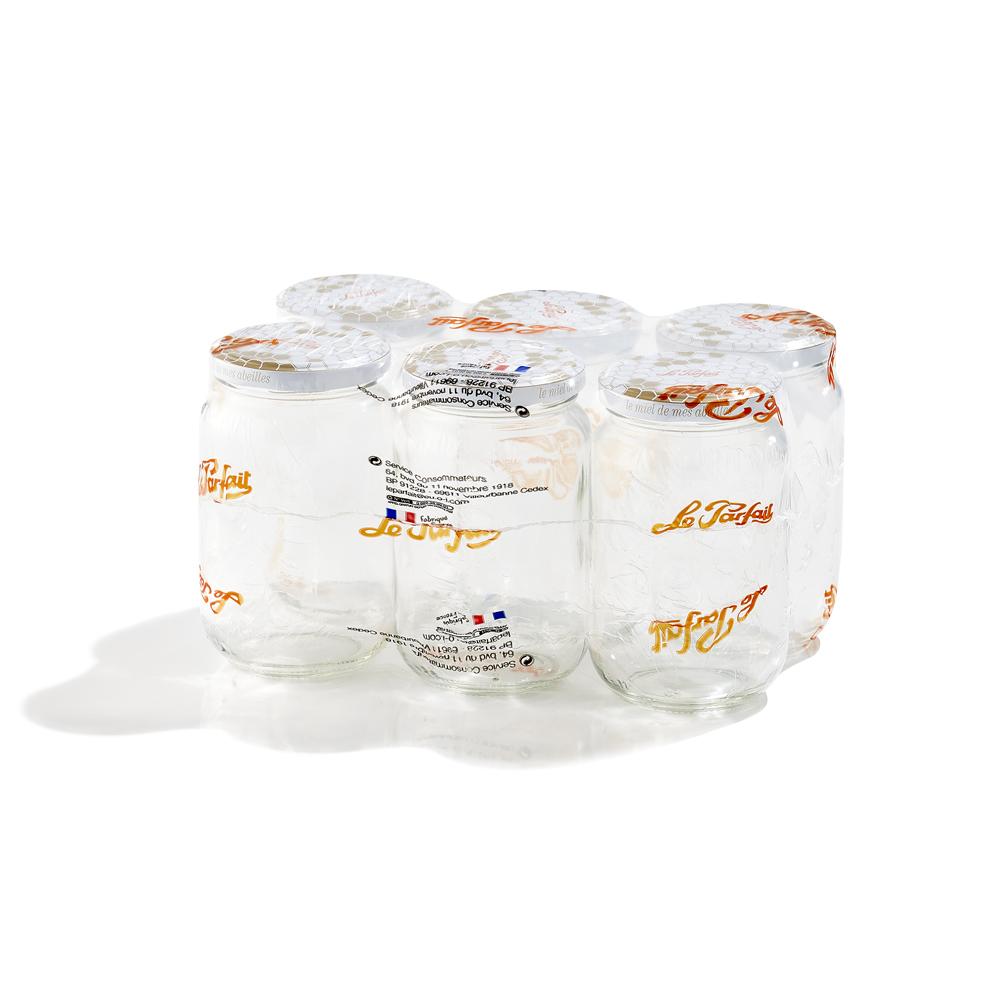 Le Parfait - Pack 6 pots à miel 385ml