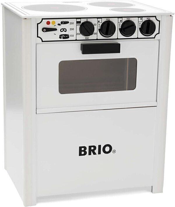 Brio - Cuisinière blanche