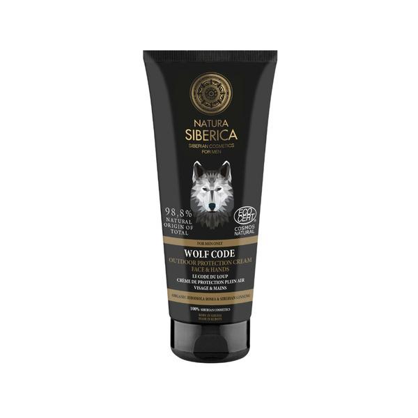 Natura Siberica - Crème Visage & Mains Le Code du Loup 80 ml