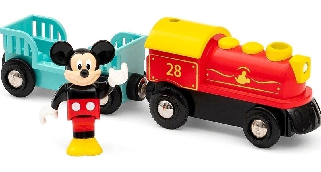 Brio - Train à pile Mickey Mouse