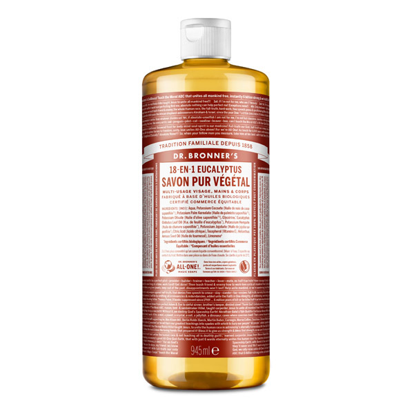 Dr Bronner's - Savon liquide Eucalyptus 945ml