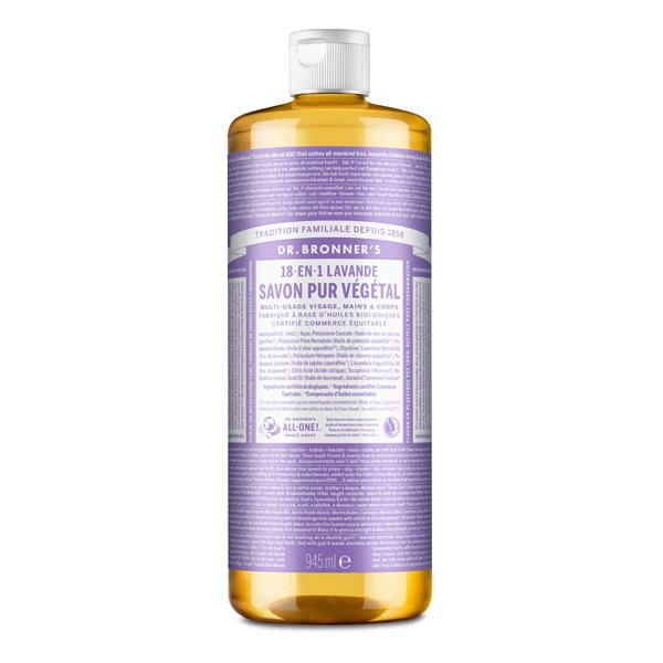 Dr Bronner's - Savon liquide Lavande 945ml