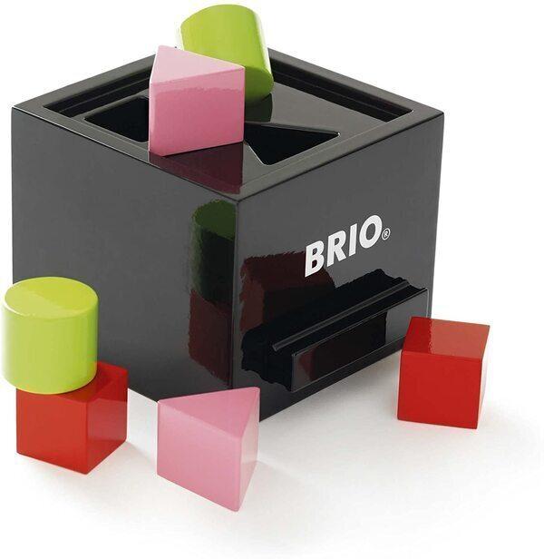 Brio - Boîte à formes laquée noire
