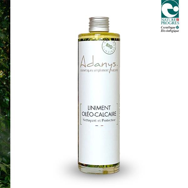 Adanys - Liniment Oléo-Calcaire Nettoyant/ Démaquillant - 200 ML