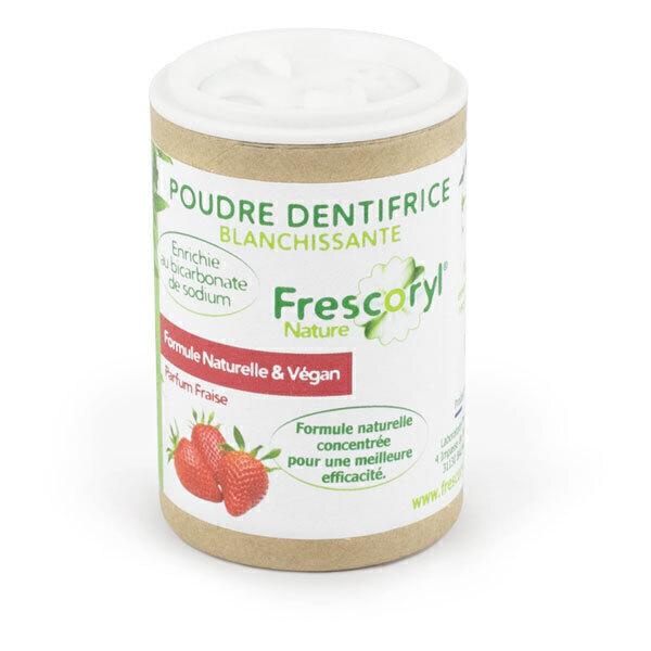 Frescoryl - Dentifrice en poudre Fraise 40g