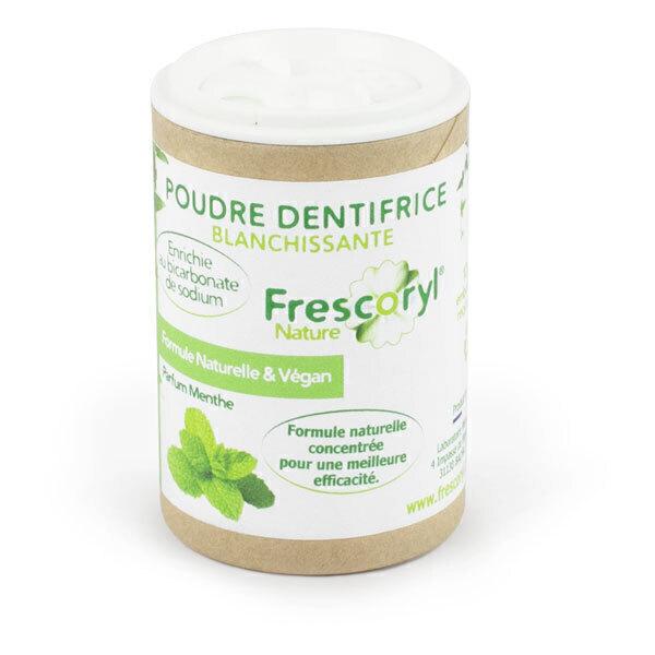 Frescoryl - Dentifrice en poudre Menthe 40g