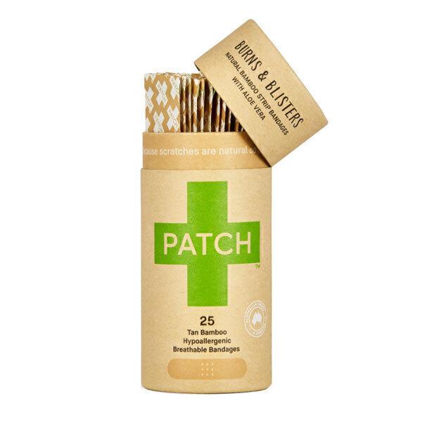Patch - Pansements en bambou et aloe vera x25