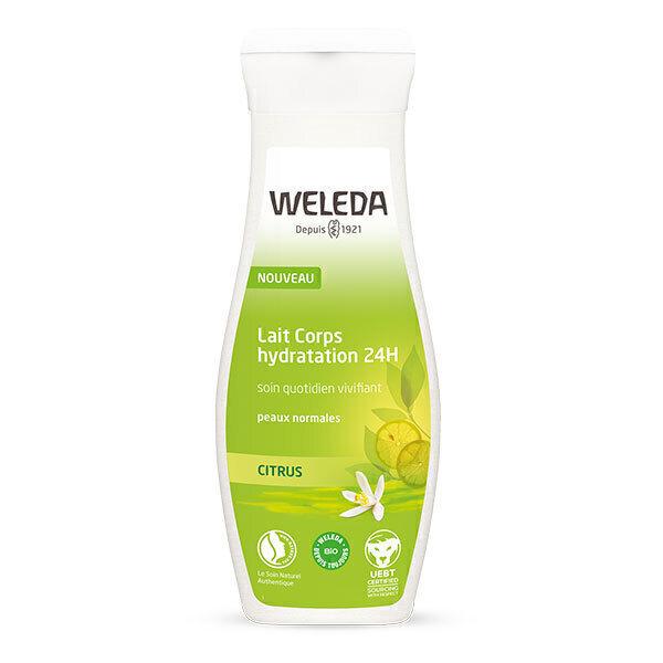 Weleda - Lait corps Citrus Hydratation 24h 200ml
