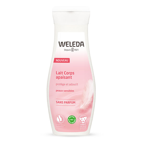 Weleda - Lait corps Apaisant sans parfum 200ml