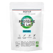 BIOFAIR NUTRITION - La véritable protéine de lait bio Nature - 500g