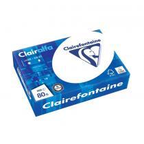 Clairalfa - Ramette 500 Feuilles A5 80g/m² Certifié PEFC Blanc 170CIE x10