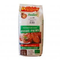 Minoterie Prunault - Préparation pain et pizza Panilev T80 1kg bio
