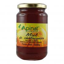 Apinat - Miel de chatâignier 500g bio
